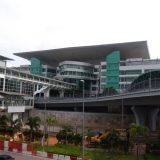 Sultan Iskandar Customs, Immigration and Quarantine Complex in Johor Bahru